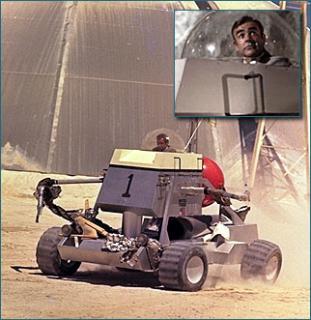 Ken Adam,The James Bond Moon Buggy 1, 1971