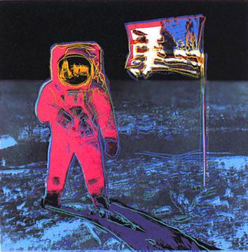 Andy Warhol, Moonwalk, 1987 (red)