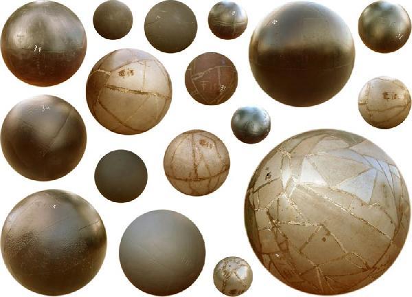 Takis, Spheres, 2000