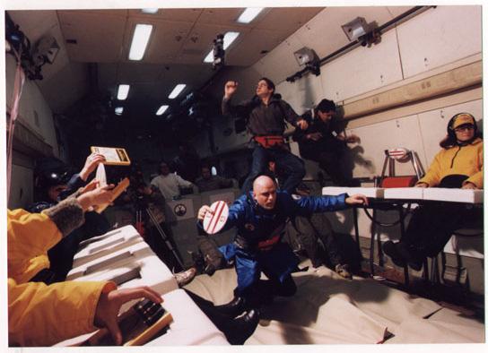 Dragan Zivadinov, Zero Gravity Biomechanical Theater 3, 1999